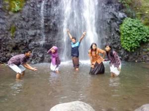 Air terjun hargo dumilah Ngrambe Ngawi